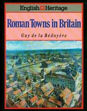 NEW Roman Towns in Britain 117 Pix Services Facilities Economy Industry Pub $110