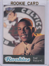 Paul PIERCE ROOKIE CARD 1998 Fleer Ultra RC Boston Celtics BASKETBALL Draft Pick