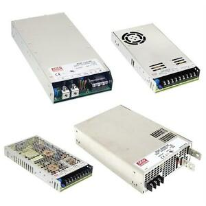 MeanWell switching power supplies RSP-series / 5V 12V 15V 24V 27V 36V 48V
