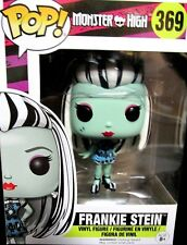 MONSTERS HIGH 369,FRANKIE STEIN NEW! FIGURE,FUNKO,POP,VINYL,BOXED,FREE SHIP!