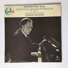 BACH VINYLE CONCERTOS BRANDEBOURGEOIS N°2 & 5 / 33 T LP TRX 6168