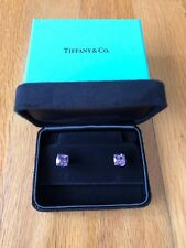 Tiffany & Co. Amethyst and Sterling Silver Sparklers earrings
