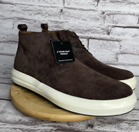 Kenneth Cole Men's Size 7.5 The Mover Chukka Brown Suede Lace Up Shoes