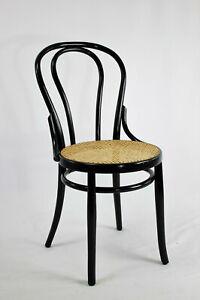 Sedie Paglia di vienna legno curvato tipo Thonet RESTAURATE primi 900 marchio SL