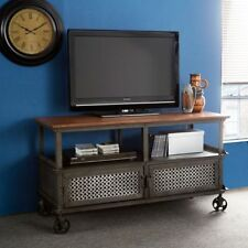 Living Room Rectangle Industrial Console Tables