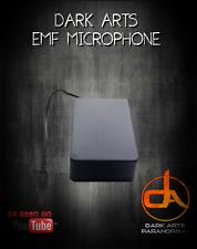 EMF micrófono investigación paranormal ghost equipamiento CAZA