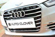Auto Clover Chrome Grille Cover Trim Set for Audi A6 2011 - 2018