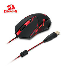 Redragon M601 3200Dpi Gaming Mouse Wired Mice with Red Led 6 Buttons Ergonomic