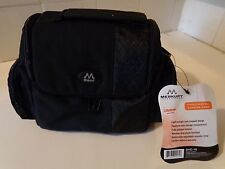 Camera Travel Case ~ MERKURY Video/Digital DVC-18 ~100% Polyester, Black, Zipper
