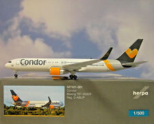Herpa Wings 1:500 Boeing 767-300ER  Condor D-ABUP  527521-001  Modellairport500