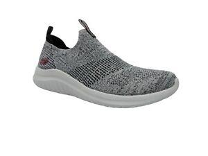 Skechers Women's Ultra Flex 2.0 Grey Stretch Slip-On Walking Shoes Size 7.5 M
