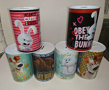 Officially Licensed 'Secret Life Of Pets' Small Money Tin