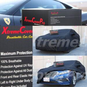 BREATHABLE CAR COVER W/MIRROR POCKET-BLACK FOR 2020 2021 HYUNDAI KONA