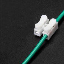 10pcs 2Pins Connecteurs de câble électrique CH2 rapide Splice Lock Terminaux 6H