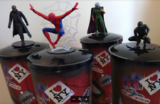 Spiderman Far From Home Movie Theater Cups and Toppers - Set of 4