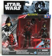 Star Wars Rebels SEVENTH SISTER INQUISITOR vs DARTH MAUL Figures 2 Pack New NIP