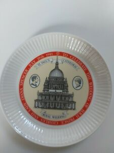 Wedgewood Royal Wedding Plate Charles and Diana Limited Edition 1981 - RARE