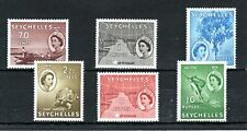 More details for seychelles 1954-61 70c to 10r mlh/mh