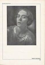 Mary Wigman German Dancer Original Halftone 1920