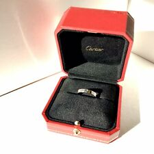 Authentic Cartier LOVE Ring Platinum Size 60 US/Canada 9