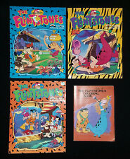 THE FLINTSTONES Lot 4 COLORING & ACTIVITY BOOKS Hanna-Barbera