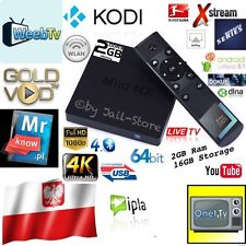 Android Google TV Box KODI 17.3 Live TV Polnisch Polska Polski Polish