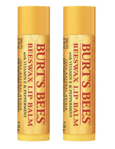 Burt's bees Beewax Lip Balm Pack of 2