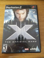 Playstation 2 X-Men: The Official Game No Manual