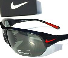 NEW* NIKE SKYLON ACE POLARIZED Grey w BLACK Frame Sunglass EVO527 006