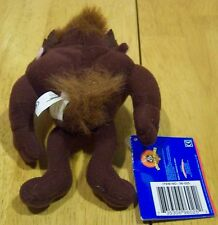 "Wb Looney Tunes Taz Tasmanian Devil 5 "" Stuffed Animal New"