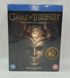 GAME OF THRONES (Complete Seasons 1-5) - 23-Disc BLU-RAY set