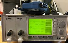 Agilent 8163A, 81632A & 81633A Power Sensors, GPIB-USB-HS included.