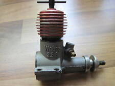 Webra Winner I 2,5 S Diesel Seitenflansch  Modellmotor model engine vintage