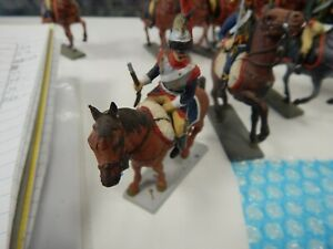 plastic French Cuirassier Napoleonic Cavalry by Starlux made in France