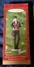 Harley Davidson Barbie Hallmark Keepsake Ornament (NEW) 2000