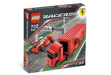 Lego RACERS 8153 Ferrari F1 Truck, New SEALED