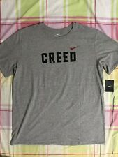 Nike x Adonis Creed Logo T-Shirt Heather Grey New Men's 2XL CH8573-063