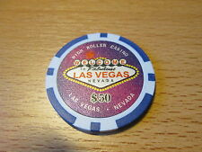 Pokerchip Las Vegas 50,- $ neu  Ausführung