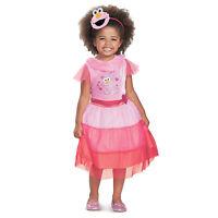 Toddler Kids Pink Elmo Sesame Street Halloween Costume Dress Headband 2T 3T 4T