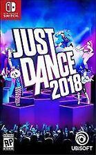 NINTENDO SWITCH - JUST DANCE 2018 - BRAND NEW - FREE 1ST CLASS SHIPPING