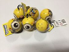 Dispicable ME Series 1 Mineez Mini Figures Mystery Minion Packs Lot of 6 New