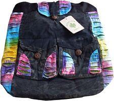 Damen-Rucksäcke mit zwei Trägern aus Baumwolle
