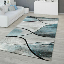 Novelty Modern Rug Grey Blue Living Room Carpet Small extra Large Carpets Mats