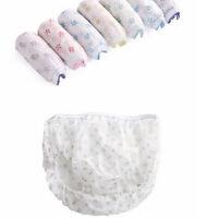 7PCS Cotton Pregnant Disposable Underwear Panties Prenatal Postpartum Panties M&