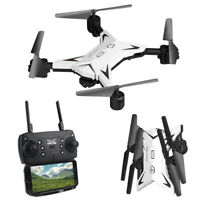Foldable WIFI FPV RC Quadcopter Drone with 1080P 5.0MP HD Camera Selfie Kid Gift