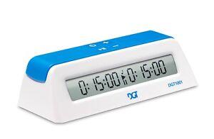Schachuhr - DGT 1001 - Weiß - Schach Timer Uhr