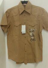 Camisa hombre manga corta talla small cms modelo 8