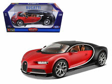 Bburago 1:18 Bugatti Chiron Diecast Model Car Vehicle New In Box 18-11040 Red