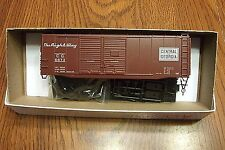 ACCURAIL 40' DBL. DOOR STEEL BOX CAR CENTRAL OF GEORGIA #6873 HO SCALE KIT