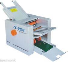 310700 Mm Paper 4 Folding Plates Auto Folding Machine Ze 9b4 Ss